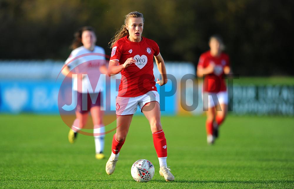 Charlie Wellings of Bristol City- Mandatory by-line: Nizaam Jones/JMP - 27/10/2019 - FOOTBALL - Stoke Gifford Stadium - Bristol, England - Bristol City Women v Tottenham Hotspur Women - Barclays FA Women's Super League