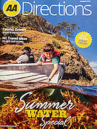 Front Cover of the AA Directions magazine, Summer 2015.