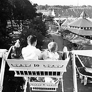 Y-530719-01.  Fun days story published July 19, 1953. Oaks Park