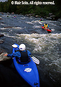 Outdoor recreation, Whitewater Kayaking, Lehigh River, PA