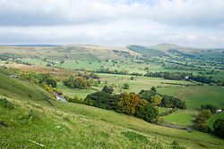 View from the hills above Winnats Pass out over the Hope Valley towards Loose Hill <br />  11 October 2015<br />   Image © Paul David Drabble <br />   www.pauldaviddrabble.co.uk