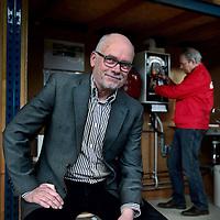 Nederland. Geleen. 7 april 2015.<br /> Niek Swelsen, ZZP-er bij Graaf Huyn College en 50 plusser.<br /> Foto: Jean-Pierre Jans