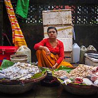 Fish Seller by Naw Aye Aye Thet