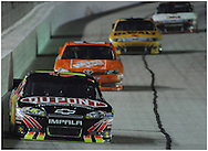 September 2, 2012 - Hampton: Jeff Gordon leads a group of cars in to turn one  during the AdvoCare 500 at the  Atlanta Motor Speedway in Hampton on  Sunday, September 2, 2012.  ©2008Johnny Crawford
