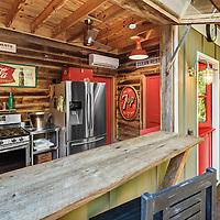 Residence Pool House Kitchen - Dunwoody, GA