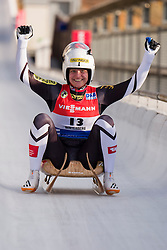 26.11.2016, Winterberg, GER, Viessmann Rennrodel Weltcup, Winterberg, Damen, Einsitzer, im Bild Birgit Platzer AUT // during women's single seater of Viessmann Luge World Cup. Winterberg, Germany on 2016/11/26. EXPA Pictures © 2016, PhotoCredit: EXPA/ Rolf Kosecki<br /> <br /> *****ATTENTION - OUT of GER*****