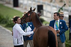 Guerdat Steve, SUI, Nino Des Buissonnets<br /> Horse Inspection Jumping<br /> Olympic Games Rio 2016<br /> © Hippo Foto - Dirk Caremans<br /> 12/08/16