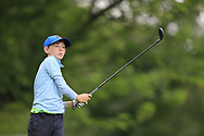 Dylan Holmes (Greystone) during the Connacht U14 Boys Amateur Open, Ballinasloe Golf Club, Ballinasloe, Galway,  Ireland. 10/07/2019<br /> Picture: Golffile | Fran Caffrey<br /> <br /> <br /> All photo usage must carry mandatory copyright credit (© Golffile | Fran Caffrey)