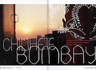 'Chili hot Bombay' article in the Norwegian magazine Aperitif.