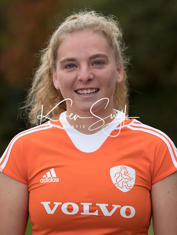 UTRECHT - HESTER VAN DER VELD. Jong Oranje hockey meisjes -21. COPYRIGHT KOEN SUYK