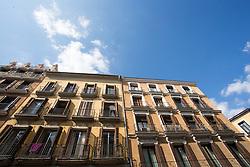 THEMENBILD - Gebäudefassaden. Die Stadt Madrid ist eine der größten Metropolen in Europa. Sie liegt im Zentrum der iberischen Halbinsel und ist Hauptstadt von Spanien. Aufgenommen am 25.03.2016 in Madrid ist Spanien // Madrid is on of the biggest metropolis in Europe. It is located in the center of the Iberian Peninsula and is the capital of Spain. Spain on 2016/03/25. EXPA Pictures © 2016, PhotoCredit: EXPA/ Jakob Gruber