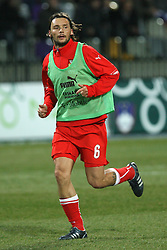 Marek Jankulovski of Czech Republic  at the 8th day qualification game of 2010 FIFA WORLD CUP SOUTH AFRICA in Group 3 between Slovenia and Czech Republic at Stadion Ljudski vrt, on March 28, 2008, in Maribor, Slovenia. Slovenia vs Czech Republic 0 : 0. (Photo by Vid Ponikvar / Sportida)