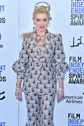 February 8, 2020, Santa Monica, Kalifornien, USA: Amber Heard bei der 35. Verleihung der Film Independent Spirit Awards 2020 im Zelt am Santa Monica Beach. Santa Monica, 08.02.2020 (Credit Image: © Future-Image via ZUMA Press)
