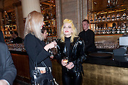Sam Ranger; Pam Hogg, Criterion Restaurant  celebrates its 135th anniversary. Piccadilly Circus. London. 2 February 2010