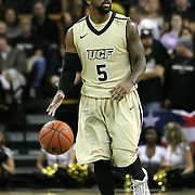 Central Florida guard Marcus Jordan (5) during a Conference USA NCAA basketball game between the Rice Owls and the Central Florida Knights at the UCF Arena on January 22, 2011 in Orlando, Florida. Rice won the game 57-50 and extended the Knights losing streak to 4 games.  (AP Photo/Alex Menendez)