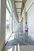 Interior of the East wing of Crystal Bridges Museum of American Art on Monday, June 10, 2013, in Bentonville, Ark.