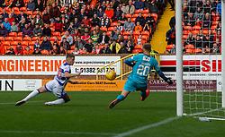 half time : Dundee United 3 v 0 Morton, Scottish Championship game played 28/9/2019 at Dundee United's stadium Tannadice Park.