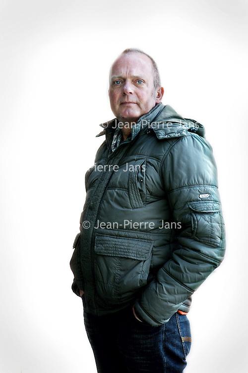 Nederland, Amsterdam , 2 april 2013..Ben Baan, ex. ME-er die tijdens de Kroonswisseling in 1980 lijnrecht tegenover de krakers stond..Foto:Jean-Pierre Jans
