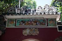 Inside A-Ma Temple in Macau