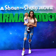 Tyla Carr attend the Shaun the Sheep Movie: Farmageddon, at ODEON LUXE on 22 September 2019,  London, UK.