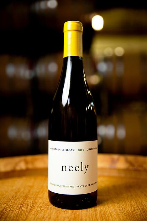 Neely 2016 Amphitheater Block Spring Ridge Vineyard Chardonnay (Santa Cruz Mountains) on Tuesday, Nov. 19, 2019, in San Francisco, Calif.
