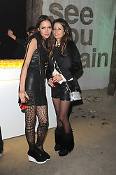 Left to right, SASHA VOLKOVA and Galina Agapov at the launch of 2 collections by jeweller Stephen Webster - ÔThe 7 Deadly SinsÕ and ÔNo RegretsÕ held at The Old Vics Tunnels, Under Waterloo Station, Off Leake Street, London SE1 on 8th December 2010.<br /> Left to right, SASHA VOLKOVA and Galina Agapov at the launch of 2 collections by jeweller Stephen Webster - 'The 7 Deadly Sins' and 'No Regrets' held at The Old Vics Tunnels, Under Waterloo Station, Off Leake Street, London SE1 on 8th December 2010.
