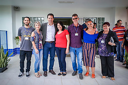 Porto Alegre, RS 10/02/2020: O prefeito, Nelson Marchezan Júnior, visitou, na tarde desta segunda-feira (10), a Escola de Educação Infantil Professora Marieta Paixão Araújo. A secretária adjunta da Educação, Iara Wortmann, acompanhou a visita. Foto: Jefferson Bernardes/PMPA