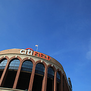 Citi Field during the New York Mets V San Francisco Giants Baseball game at Citi Field, Queens, New York. 21st April 2012. Photo Tim Clayton