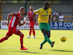 August 28, 2017 - London, United Kingdom - Joel Nouble of Thurrock FC.during Bostik League Premier Division match between Thurrock vs Billericay Town at  Ship Lane Ground, Aveley on 28 August 2017  (Credit Image: © Kieran Galvin/NurPhoto via ZUMA Press)