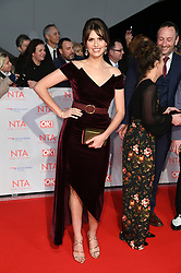 Ellie Taylor attending the National Television Awards 2018 held at the O2, London. Photo credit should read: Doug Peters/EMPICS Entertainment