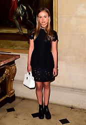 Lady Amelia Windsor at the Christian Dior show at Blenheim Palace, Woodstock, Oxfordshire. PRESS ASSOCIATION Photo. Picture date: Tuesday May 31, 2016. See PA story SHOWBIZ Dior. Photo credit should read: Ian West/PA Wire