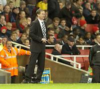 Photo: Olly Greenwood.<br />Arsenal v Newcastle United. The Barclays Premiership. 18/11/2006. Newcastle manager Glenn Roeder