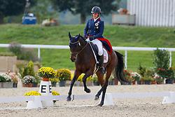 Khoddam-Hazrati Katrin, AUT, Oklahoma 2<br /> FEI EventingEuropean Championship <br /> Avenches 2021<br /> © Hippo Foto - Dirk Caremans<br />  23/09/2021