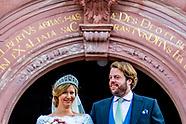 wedding of Ferdinand Prinz zu Leiningen, Sohn des Andreas Fürst zu Leiningen und Alexandra Fürstin z