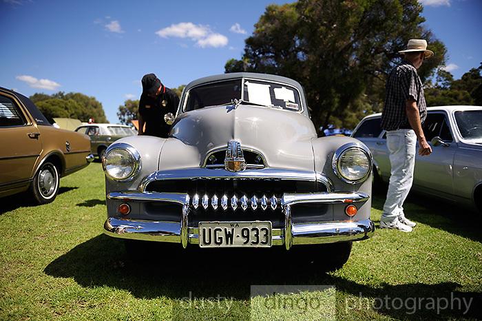 Holden FJ 2011 Classic Car Show, Whiteman Park, Perth, Western Australia. March 20, 2011
