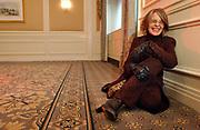 Actress Diane Keaton is seen in the Waldorf Astoria Hotel in Manhattan, NY. 11/23/2003 Photo by Jennifer S. Altman