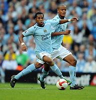 Robinho<br /> Manchester City 2008/09<br /> Manchester City V Chelsea 13/09/08<br /> The Barclays Premier League<br /> Photo Robin Parker Fotosports International