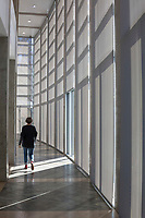 BENTONVILLE, AR - FEBRUARY 15:  Photographs of Crystal Bridges Museum of American Art in Bentonville, Arkansas.<br /> CREDIT Wesley Hitt for The Wall Street Journal<br /> WALMART-Bentonville Scene-setters