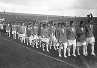 H541<br /> Tailteann Games. Various teams parading. 1924. (Part of the Independent Newspapers Ireland/NLI Collection)