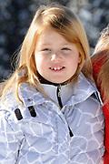 Fotosessie met de koninklijke familie in Lech /// Photoshoot with the Dutch royal family in Lech .<br /> <br /> Op de foto / On the photo: Prinses Alexia