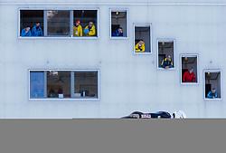 31.12.2017, Olympiaschanze, Garmisch Partenkirchen, GER, FIS Weltcup Ski Sprung, Vierschanzentournee, Garmisch Partenkirchen, Training, im Bild Jakub Wolny (POL) // Jakub Wolny of Poland during his Practice Jump for the Four Hills Tournament of FIS Ski Jumping World Cup at the Olympiaschanze in Garmisch Partenkirchen, Germany on 2017/12/31. EXPA Pictures © 2017, PhotoCredit: EXPA/ Jakob Gruber