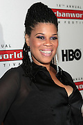 """September 20, 2012- New York, New York:  Casting Director Tracy """" Twinkie"""" Byrd attends the 2012 Urbanworld Film Festival Opening night premiere screening of  ' Being Mary Jane ' presented by BET Networks held at AMC 34th Street on September 20, 2012 in New York City. The Urbanworld® Film Festival is the largest internationally competitive festival of its kind. The five-day festival includes narrative features, documentaries, and short films, as well as panel discussions, live staged screenplay readings, and the Urbanworld® Digital track focused on digital and social media. (Terrence Jennings)"""