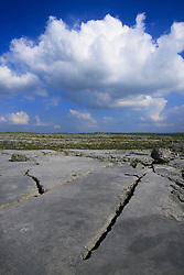 July 21, 2019 - Limestone In Burren, County Clare, Ireland (Credit Image: © Peter Zoeller/Design Pics via ZUMA Wire)