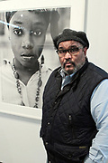 April 8, 2018-New York, New York-United States: Photographer Dawoud Bey, MacArthur Fellow Recipient  attends the Photography Show presented by AIPAD held at Pier 94 on April 8, 2018 in New York City. The Photography Show, held at Pier 94, is the longest-running and foremost exhibition dedicated to the photographic medium, offering contemporary, modern, and 19th century photographs as wells photo-based art, video and new media. (Photo by Terrence Jennings/terrencejennings.com)