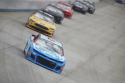 October 7, 2018 - Dover, Delaware, United States of America - Darrell Wallace, Jr (43) battles for position during the Gander Outdoors 400 at Dover International Speedway in Dover, Delaware. (Credit Image: © Justin R. Noe Asp Inc/ASP via ZUMA Wire)