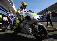 20091003: ESTORIL, PORTUGAL - Moto GP 2009 - Portugal Grand Prix: Qualifying. In picture: Valentino ROSSI - MotoGP. PHOTO: Alvaro Isidoro/CITYFILES