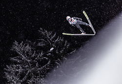 18.01.2019, Wielka Krokiew, Zakopane, POL, FIS Weltcup Skisprung, Zakopane, Qualifikation, im Bild Anders Fannemel (NOR) // Anders Fannemel of Norway during his Qualification Jump of FIS Ski Jumping World Cup at the Wielka Krokiew in Zakopane, Poland on 2019/01/18. EXPA Pictures © 2019, PhotoCredit: EXPA/ JFK