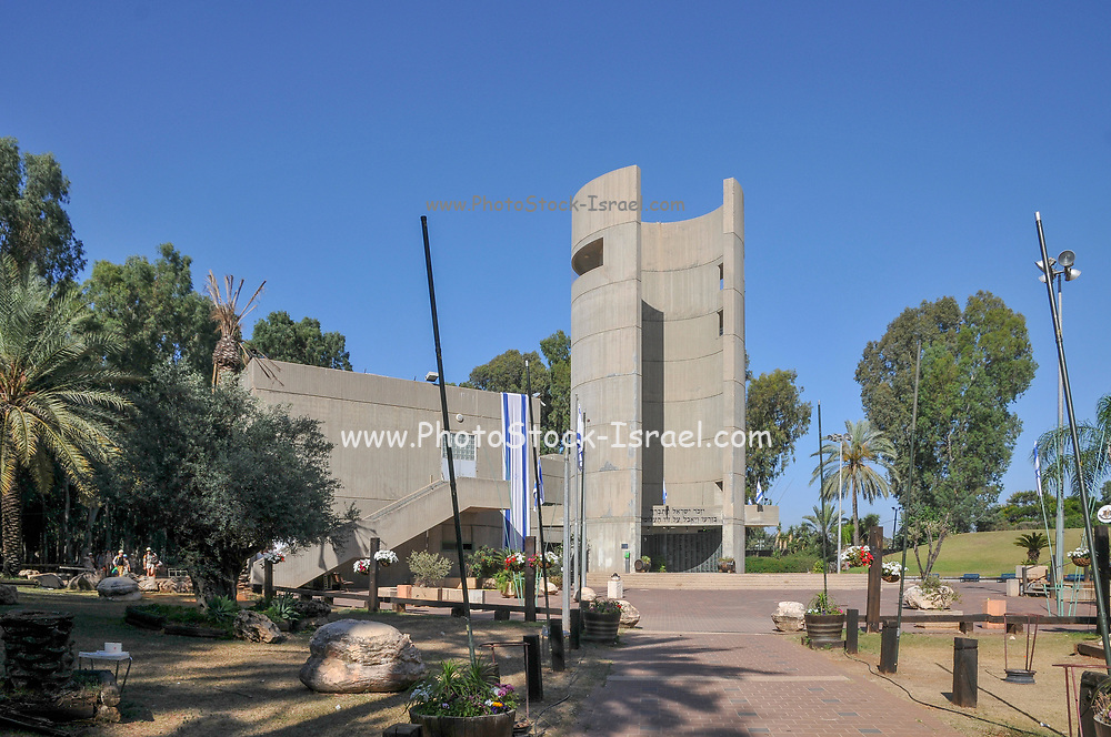 Israel, Pardes Hanna-Karkur, The Nahal Brigade military Memorial in memory of the soldiers of the Nahal brigade who fell in the service and protection of Israel