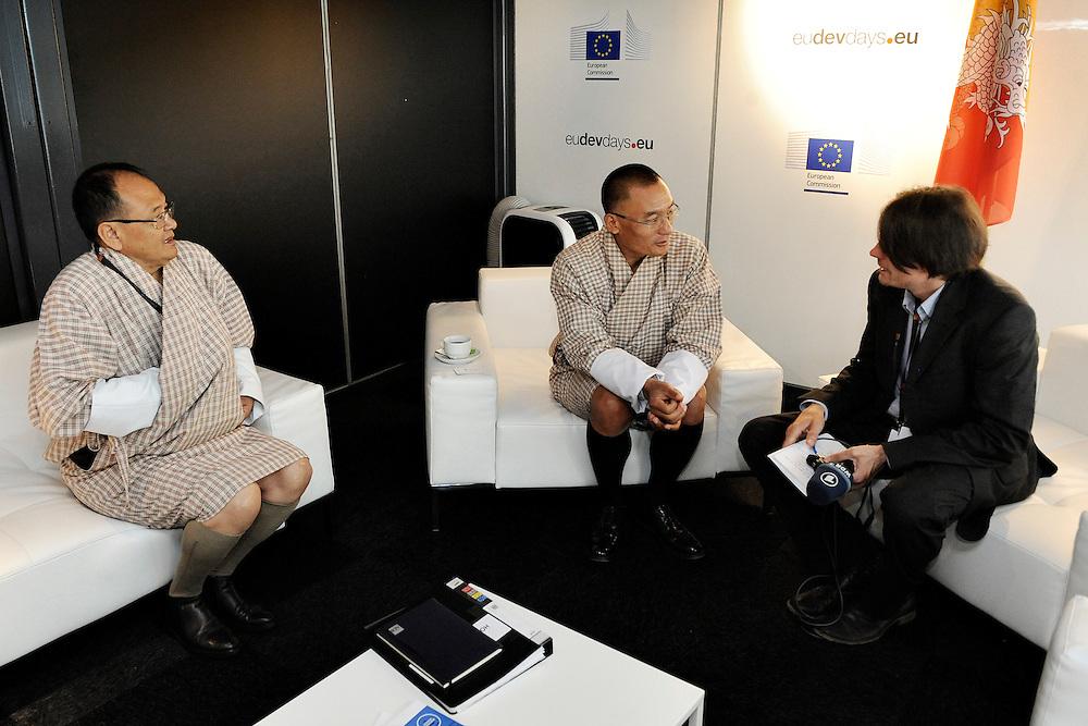 20150604- Brussels - Belgium - 04 June2015 - European Development Days - EDD  -  Tshering Tobgay PM Buthan meets the press © EU/UE