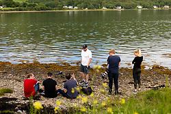 Patrick Bethwell, Ben Reynolds, Alex James, Robbie Stephenson, Joseph Meredith, Taylor Bragg,  - Ryan Hiscott/JMP - 22/06/19 - STOCK - JMP Scotland Holiday - Scotland - JMP Scotland Holiday